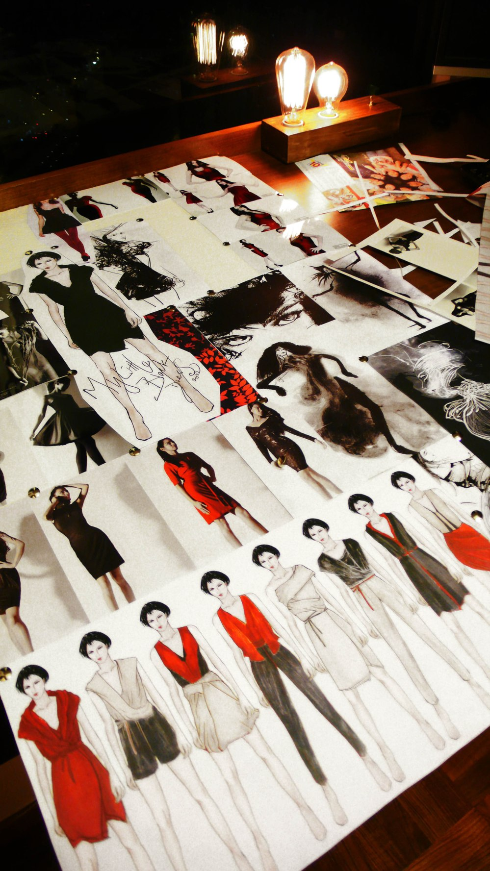YAN FONG design mood board